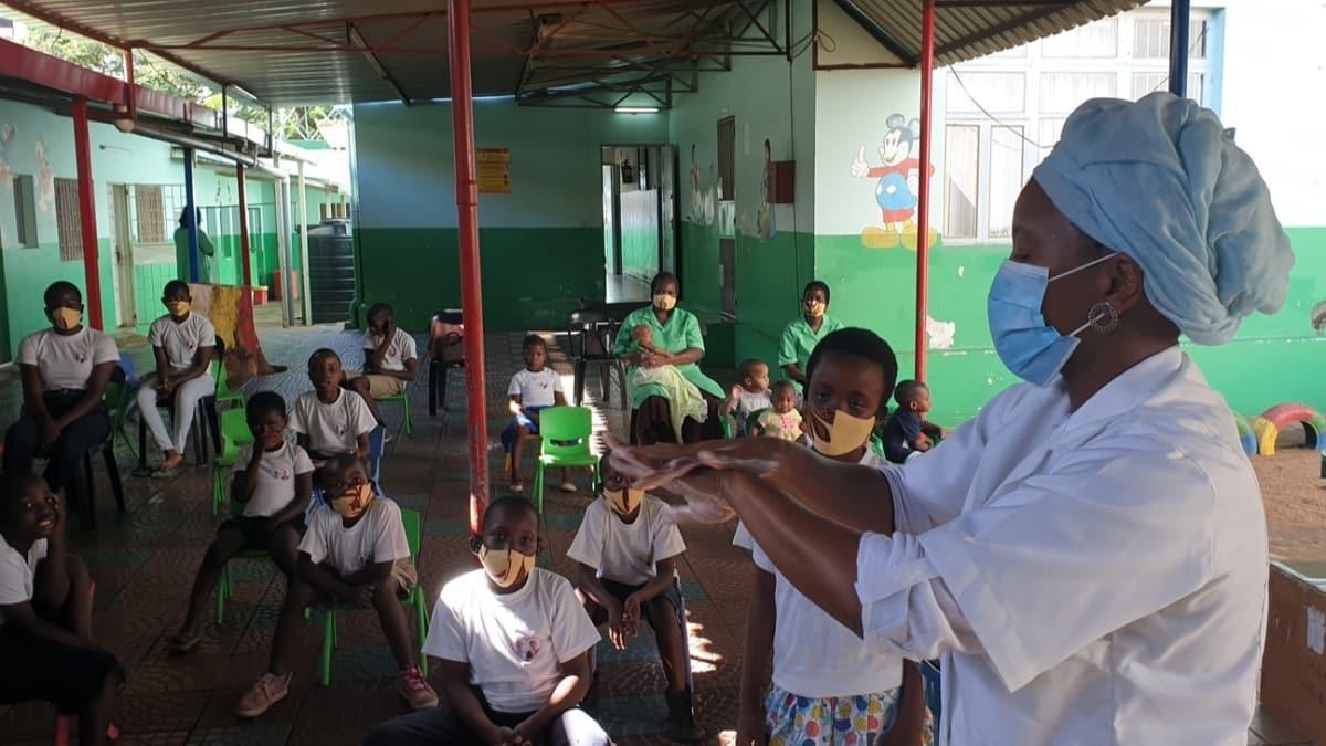 Türkiye'den Mozambik'e Kovid-19'la mücadelede destek
