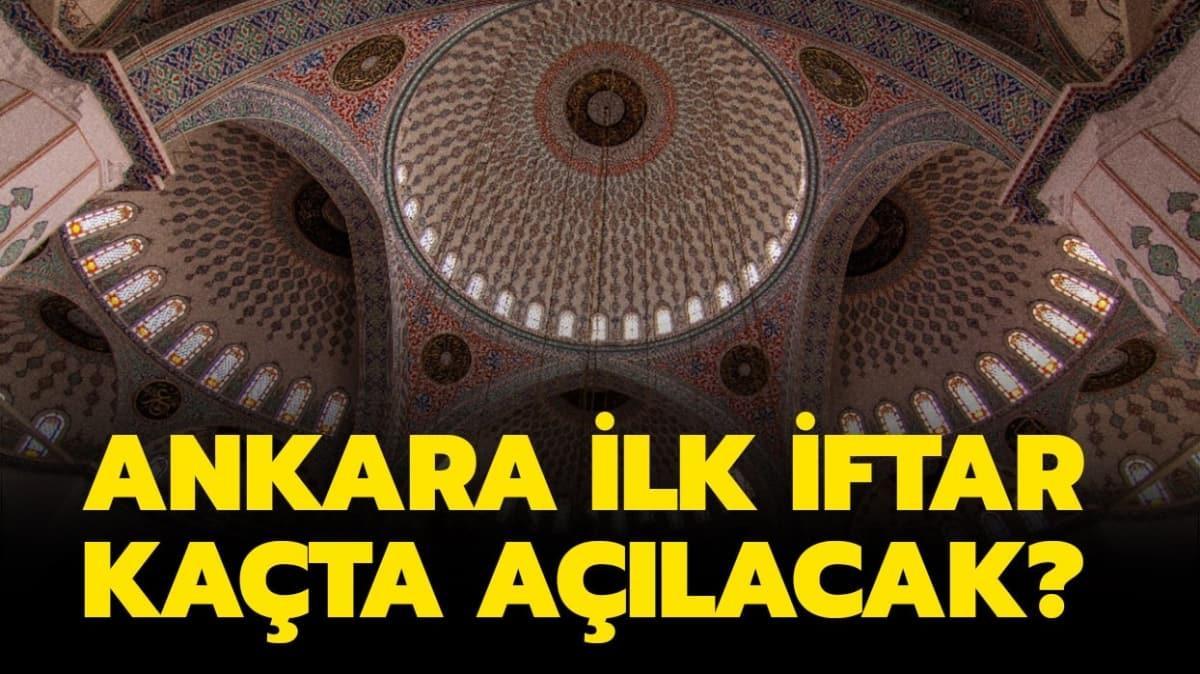 """Ankara'da iftar saat kaçta"""""""