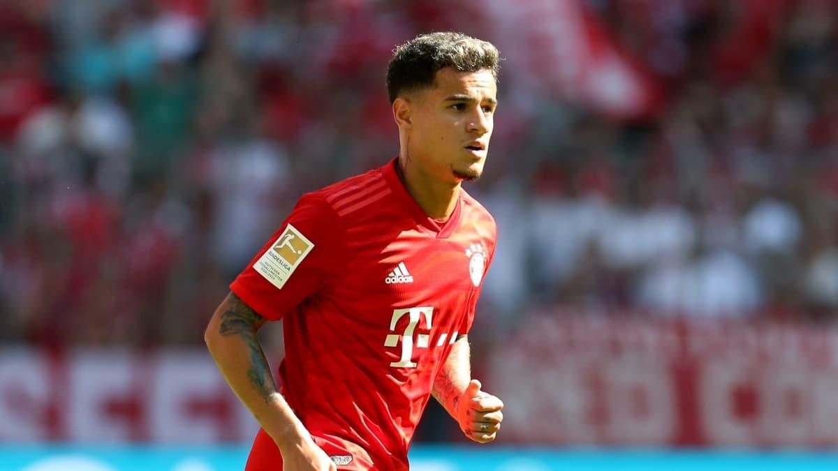 Bayern'de Coutinho ameliyat edildi