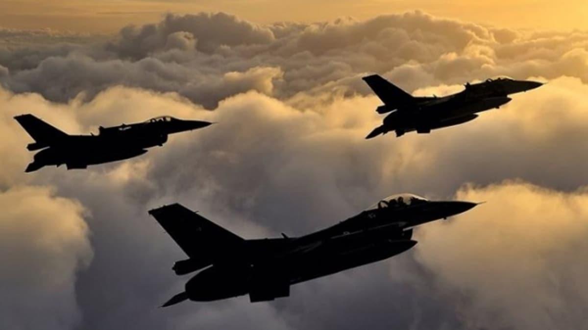 MSB: Irak'ın kuzeyine düzenlenen hava harekatında 8 terörist etkisiz hale getirildi