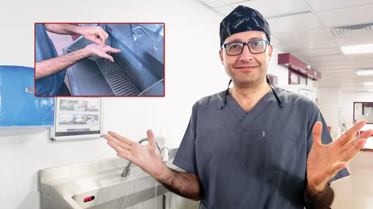 Bilim Kurulu Üyesi Prof. Dr. Levent Yamanel koronadan böyle korunuyor: Günde 20 defa ellerimi yıkıyorum
