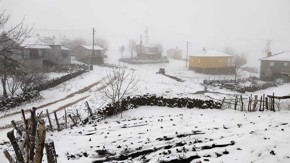 Meteoroloji'den Doğu Anadolu Bölgesi'ne yağur ve kar uyarısı