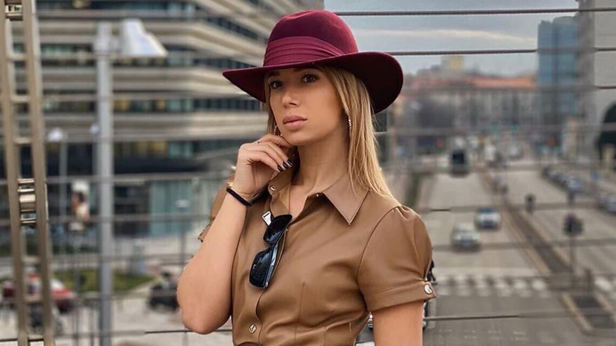 Ünlü model Bianca Dobroiu ülke tarihine geçti! Koronavirüs testi 55 gündür pozitif
