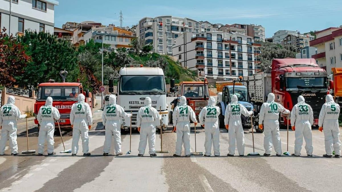 Bursaspor'un 'şampiyon kadrosu' koronavirüse karşı