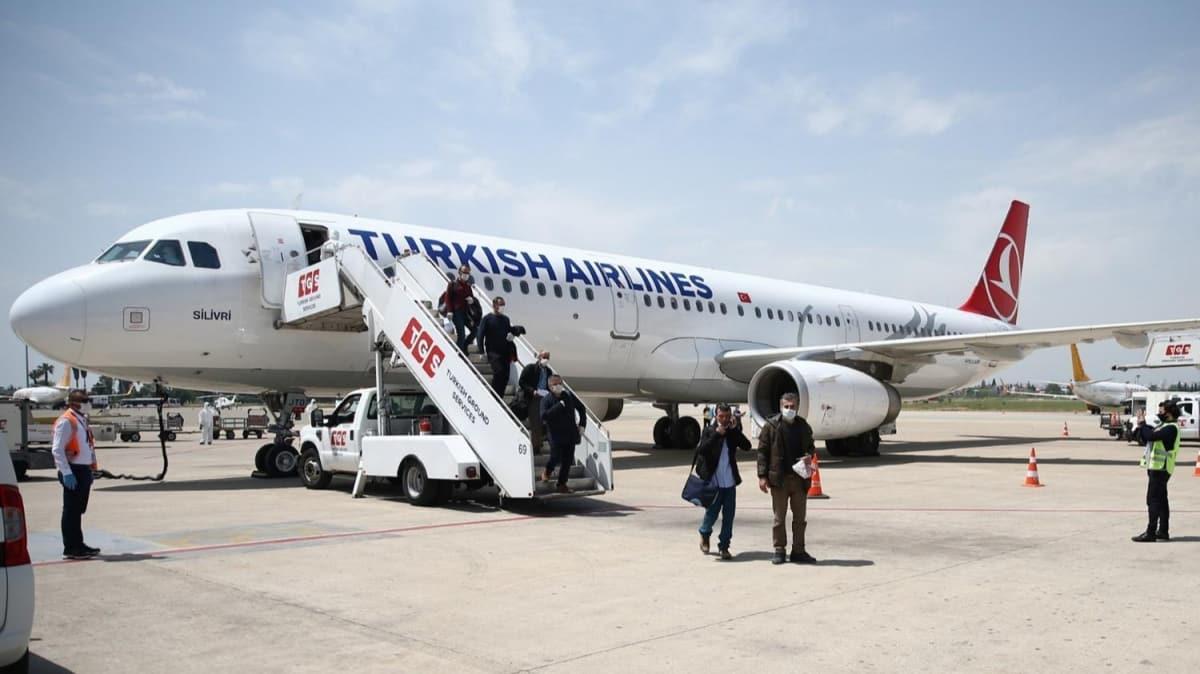 Rusya ve Almanya'dan getirilen 363 Türk vatandaşı Adana'da karantinaya alındı