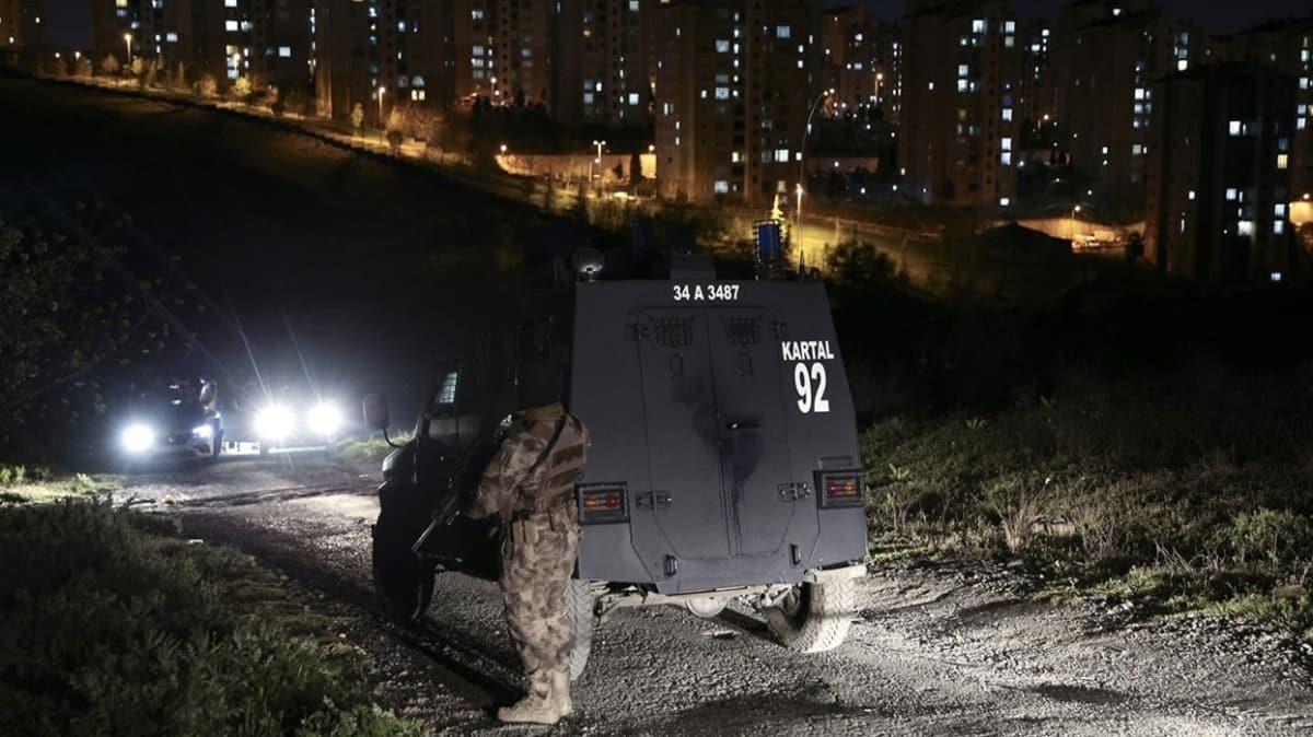 Başakşehir'de hırsız-polis kovalamacasında 1 şüpheli yaralandı