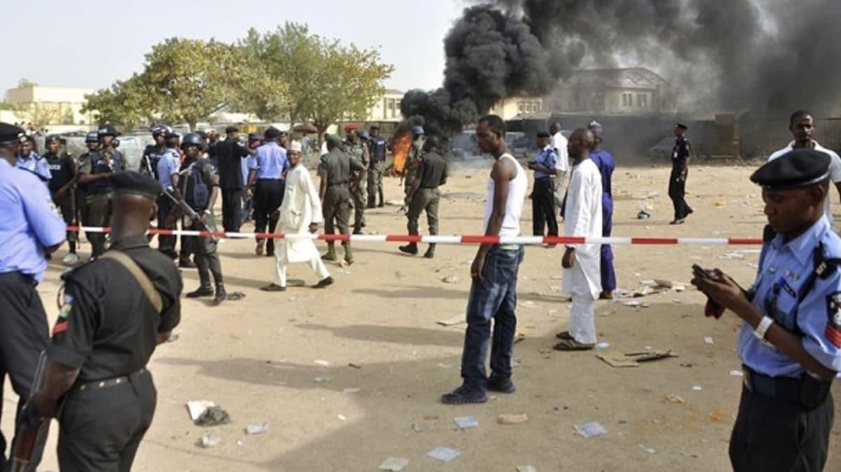 Nijerya'da tarladan dönen köylülere silahlı saldırı:7 ölü
