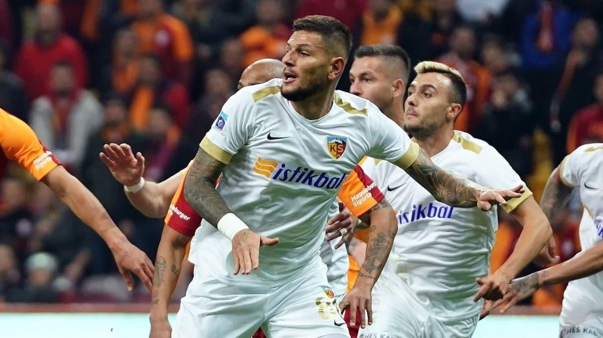 Kayserisporlu Diego Angelo: En güzel golümü Kayserispor'a attım