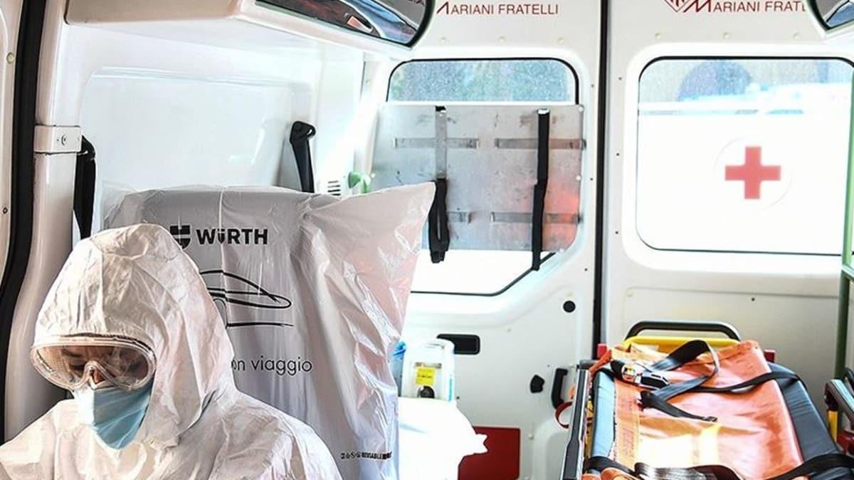İtalya'da son 24 saatte 260 kişi hayatını kaybetti