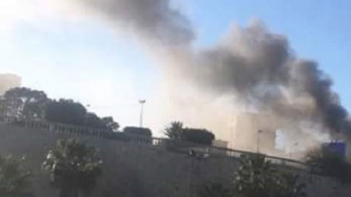 Hafter'den Mitiga Havalimanı ve çevresine füze saldırısı