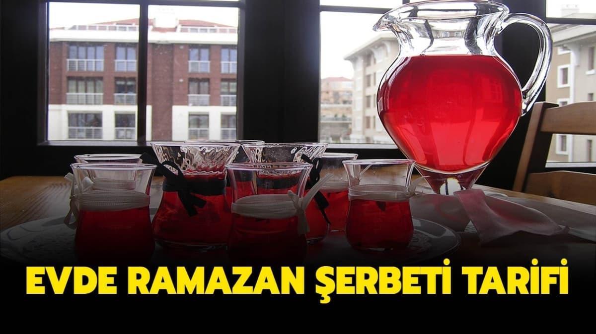 """Ramazan şerbeti tarifi nasıl yapılır"""""""