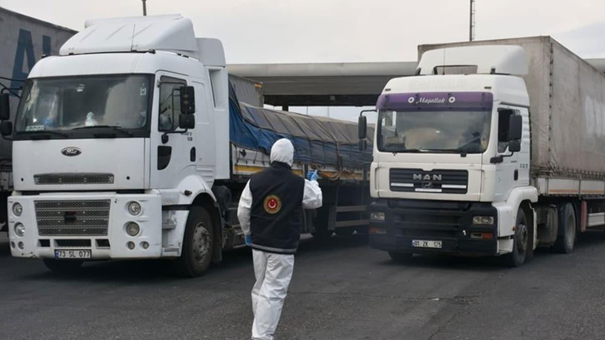 Bakan Pekcan: Temassız ticaretle tır ve vagon geçişleri arttı