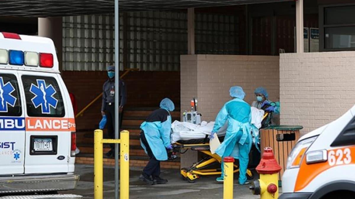 ABD'de koronavirüs nedeniyle ölenlerin sayısı 53 bin 934'e yükseldi