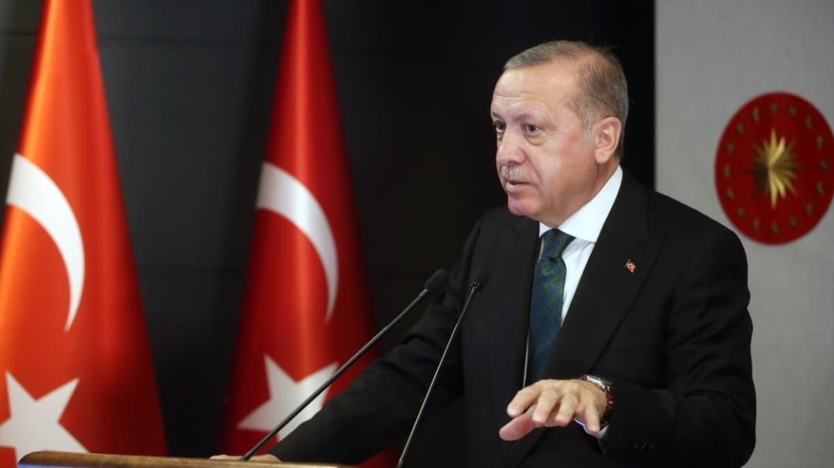Başkan Erdoğan konuşmasının ardından paylaştı... 'Türkiye için tünelin ucundaki ışık gözükmüştür'