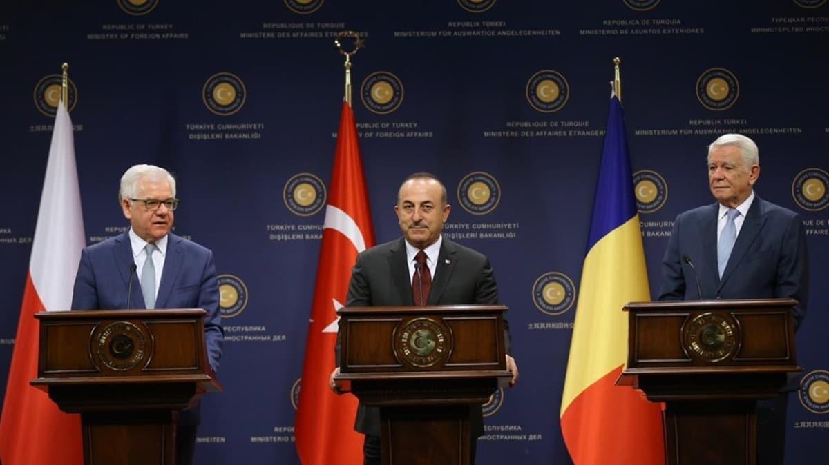 Türkiye-Polonya-Romanya Dışişleri Bakanları Toplantısı telekonferansla yapılacak