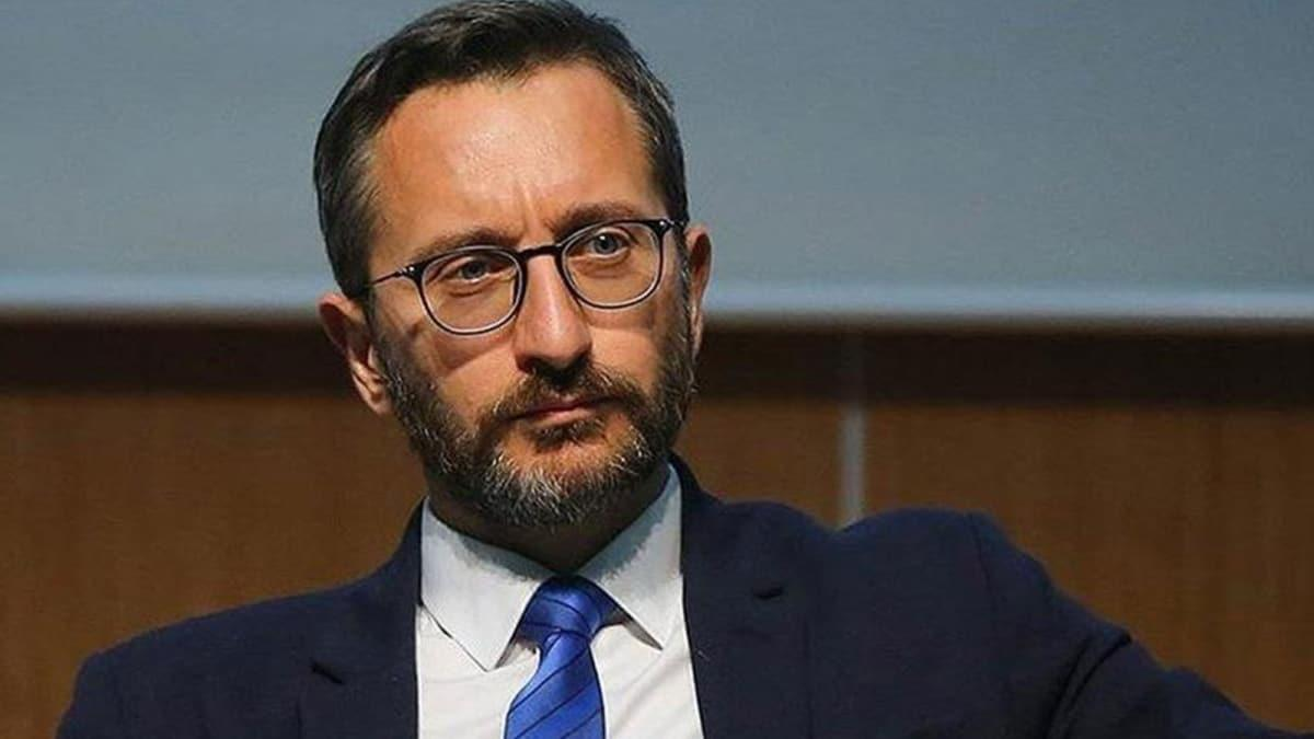 İletişim Başkanı Altun: Türkiye'nin koronavirüsle mücadelesi dünya için emsal