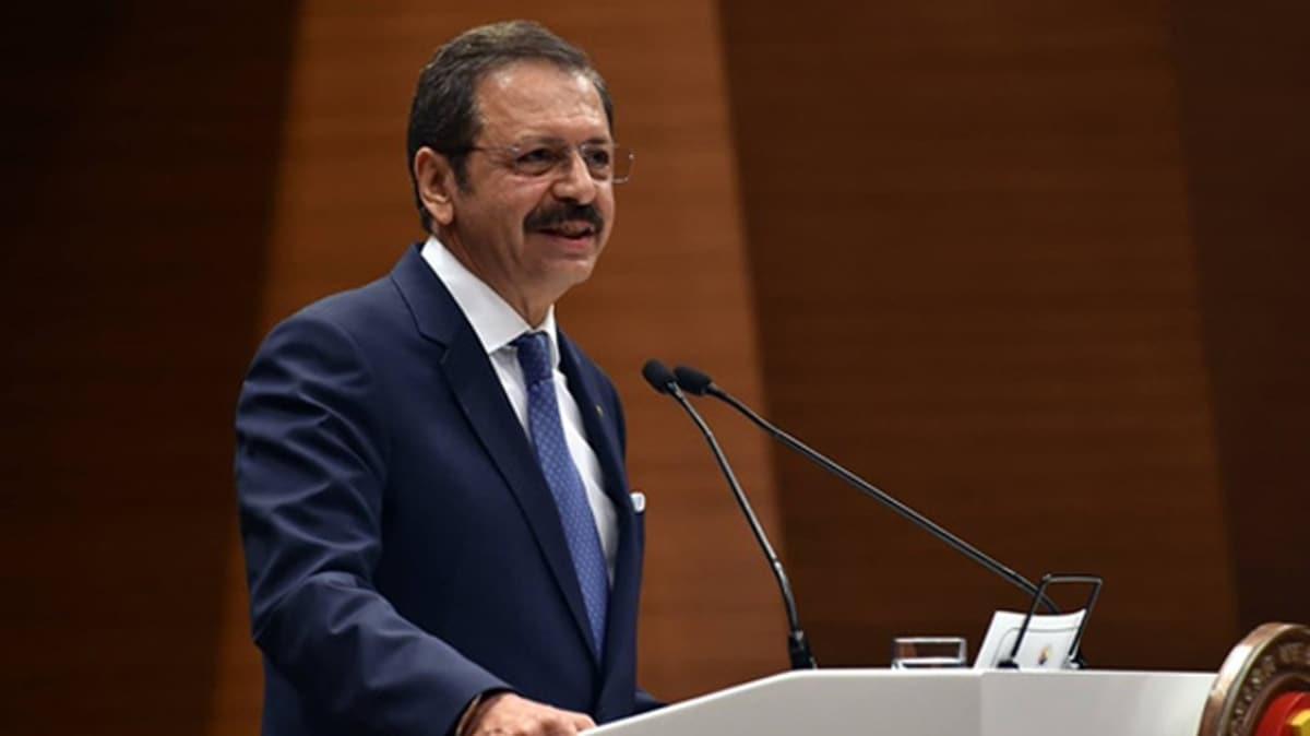 TOBB Başkanı Hisarcıklıoğlu: Nefes Kredisi'ni bugün itibariyle yeniden devreye alıyoruz