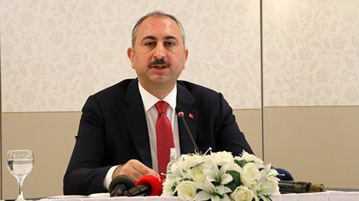 Adalet Bakanı Gül: Ankara Barosunun açıklamasını esefle karşılıyorum