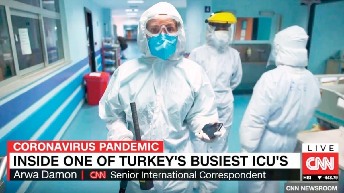 CNN, Cerrahpaşa'daydı! 'Bu imkânlar ABD'de yok'