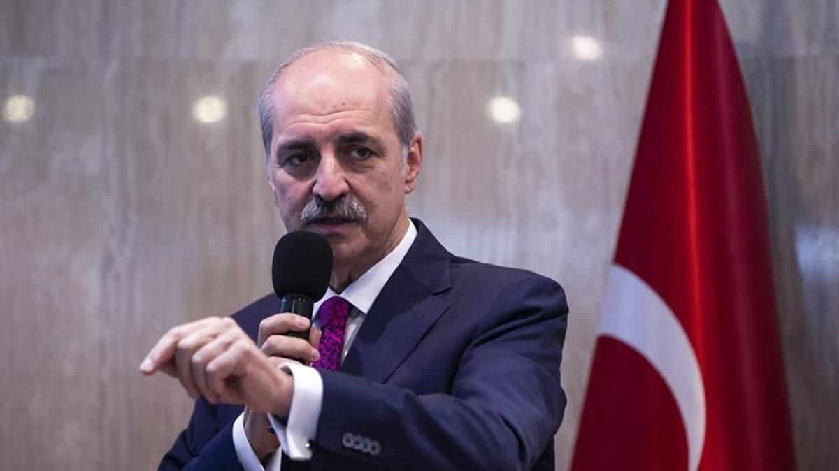 AK Parti Genel Başkanvekili Numan Kurtulmuş'tan Ankara Barosuna tepki