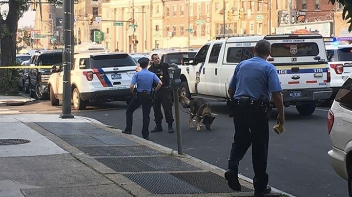 ABD'de silahlı saldırıda 1 polis öldü, 1 polis yaralandı