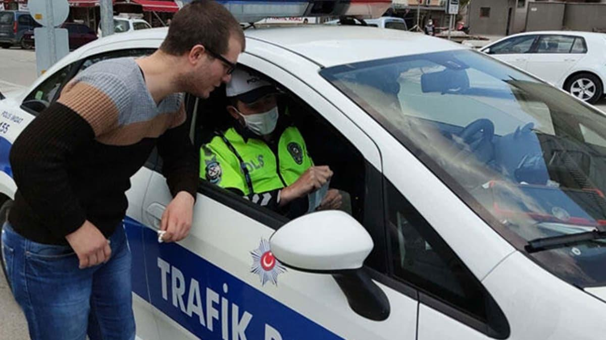 Ceza kesilen modifiye araç sürücüsü: 10 bin lira da yazsanız vazgeçmem