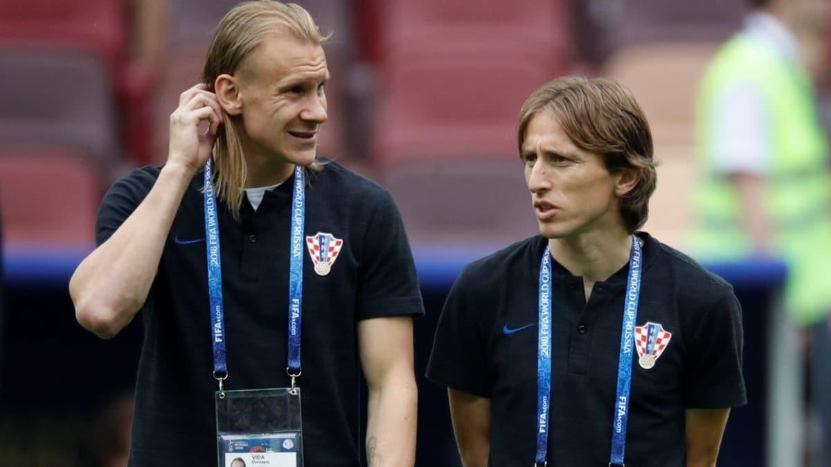 Vida'dan Modric'e: 'Come to Beşiktaş'