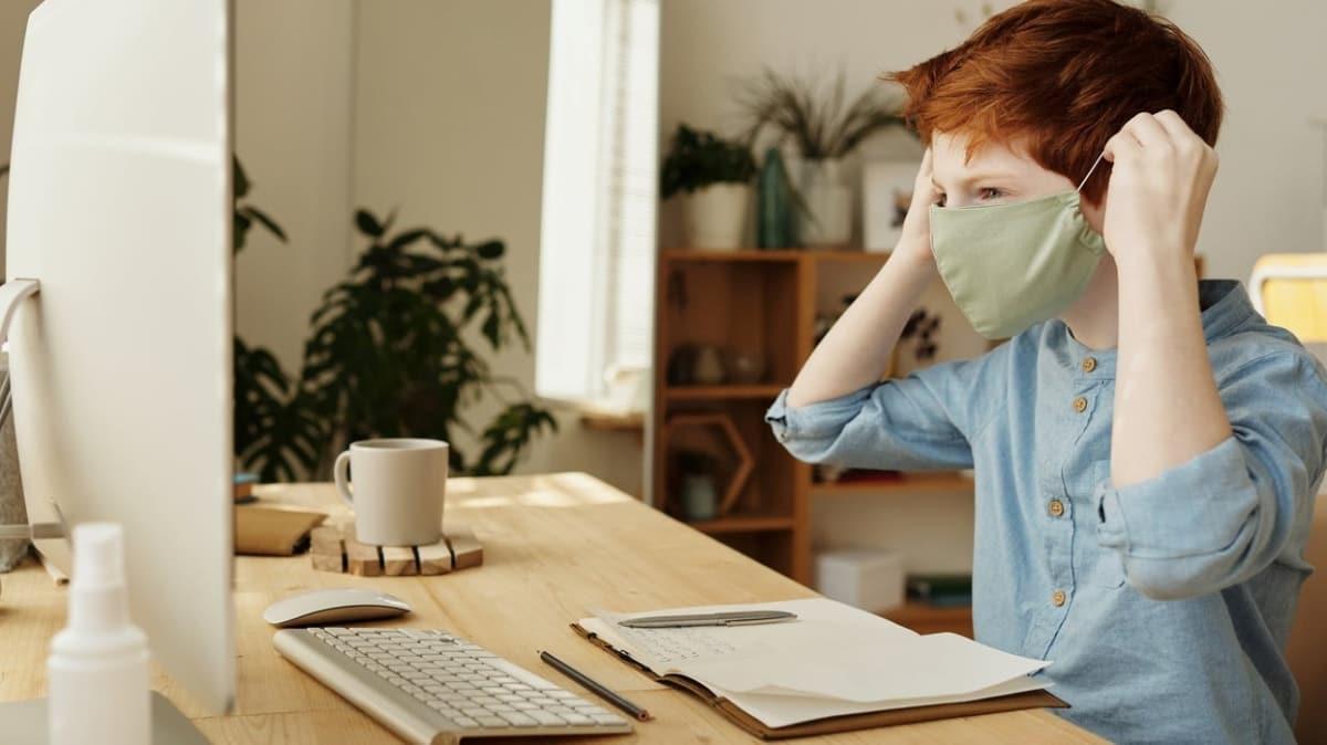 """Koronavirüsün çocukta bıraktığı etki nedir""""  Evde çocukları sakinleştirmenin altın kuralları"""
