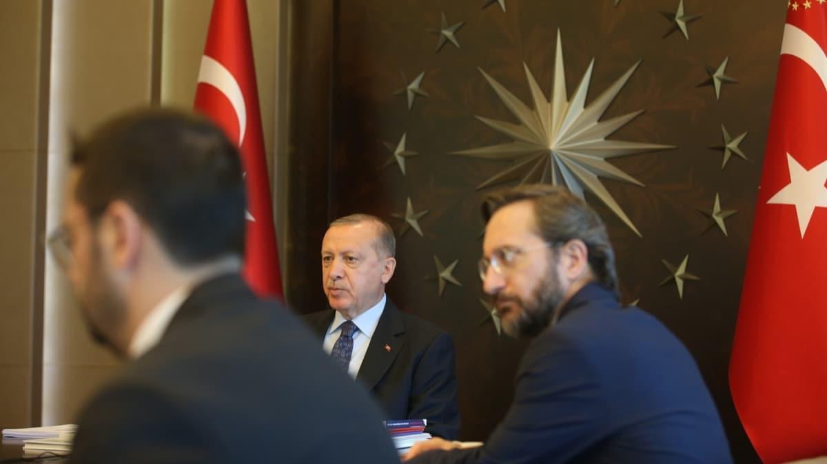 Başkan Erdoğan: Bir müddet daha dişimizi sıkacağız