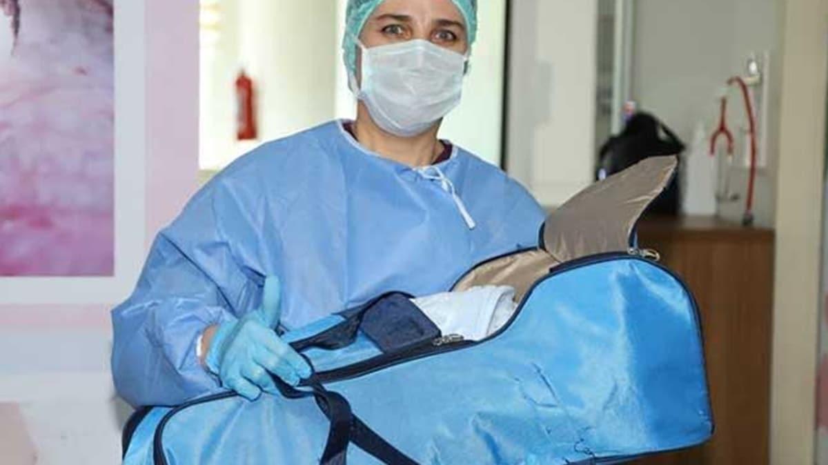 Adıyaman'da koronavirüsü yenen bebek taburcu edildi