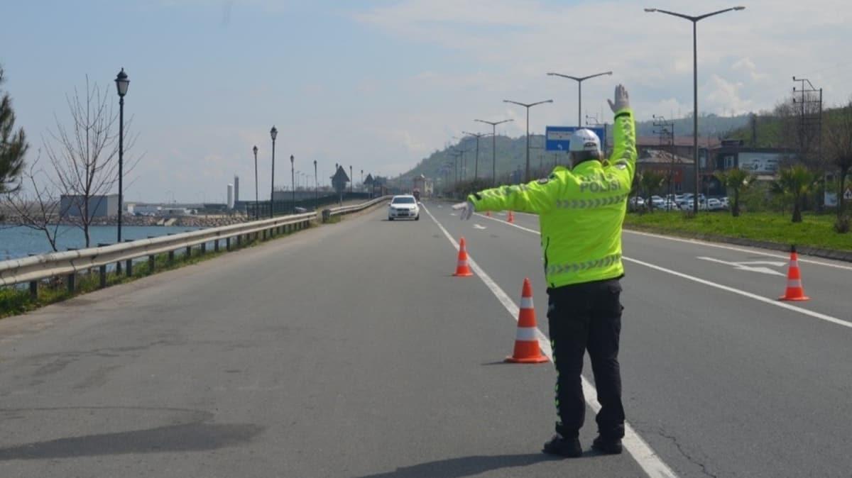 Ordulu sürücüler hız sınırı dinlemedi