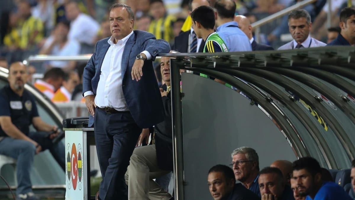 Dick Advocaat'tan flaş Fenerbahçe itirafı