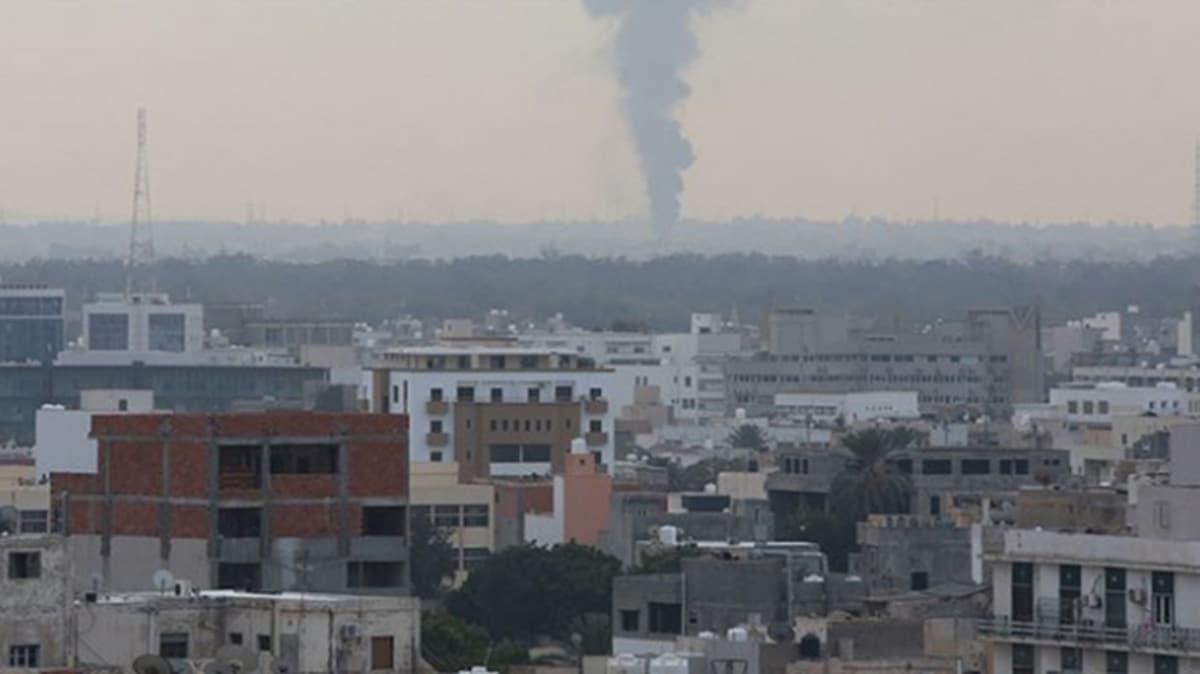 Hafter milislerinin 65 roket yağdırdığı Msallata kentinde bir anne-oğul yaşamını yitirdi
