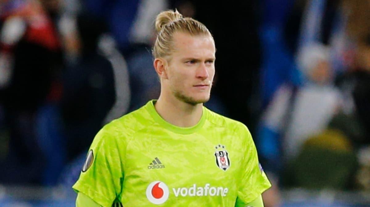 Karius sezon sonuna kadar Beşiktaş'ta kalacak