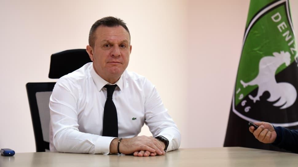 Denizlispor Kulübü Başkanı Çetin'den mali durum açıklaması