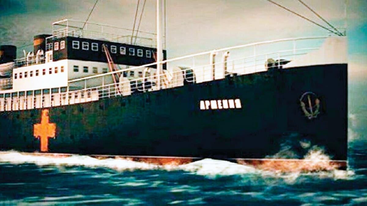Nazilerin Karadeniz'de batırdığı gemi bulundu
