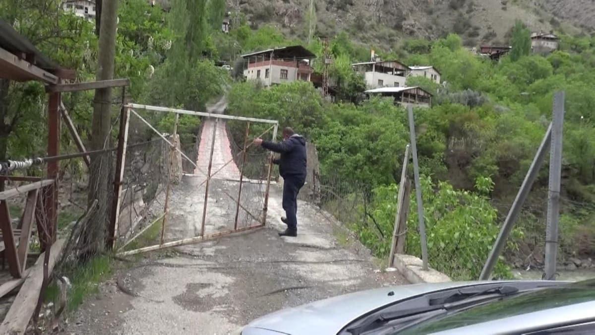 Bu köye yabancılar giremiyor! Virüse kapılı önlem