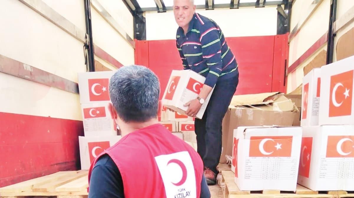 Barış Pınarı bölgesine yardım