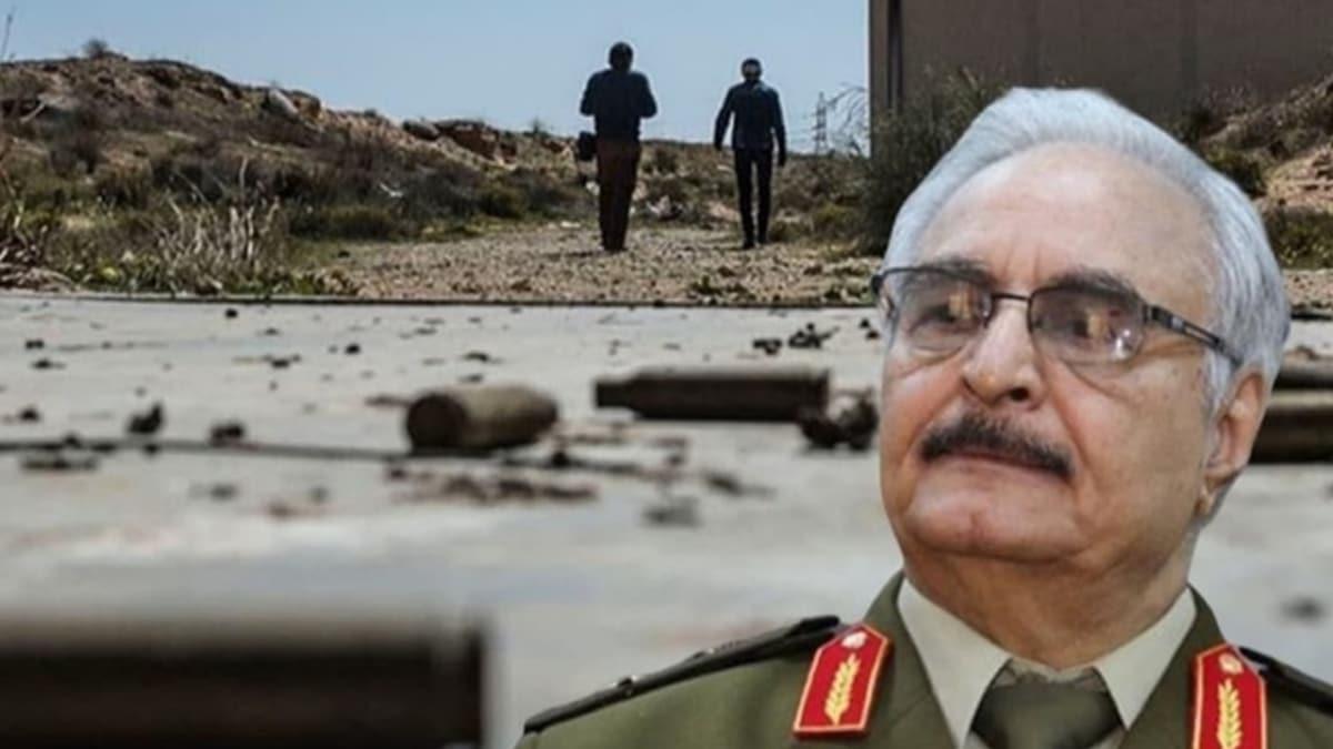 Libya'da Hafter güçlerine ağır darbe! Öfke Volkanı Operasyonu ile yerlebir edildi