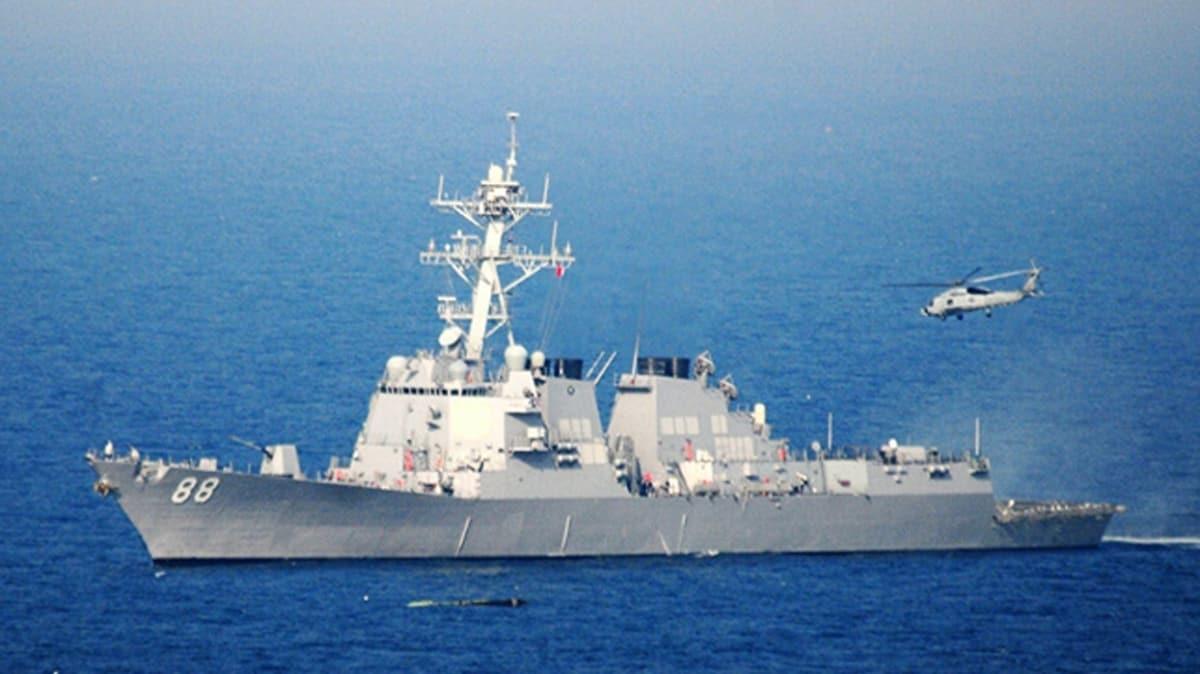 Güney Çin Denizi'nde gerilim artıyor: ABD Donaması ilk kez söz konusu bölgeyi yasa dışı bir şekilde ihlal etti