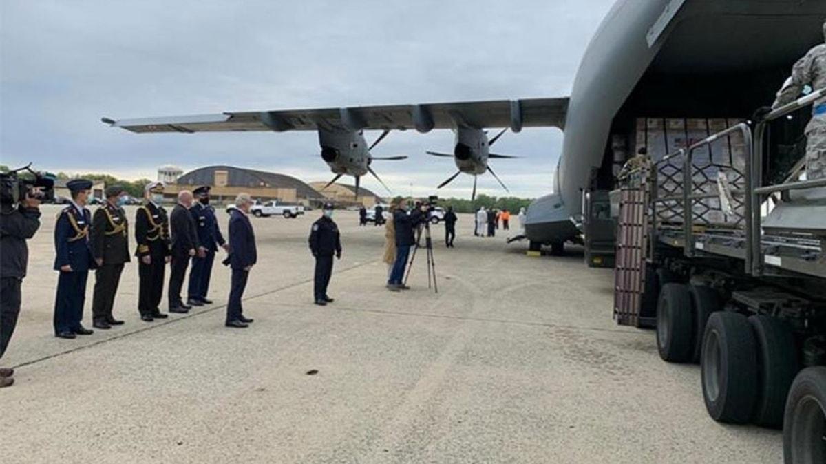 Pentagon'dan Türkiye'ye tıbbi yardım teşekkürü