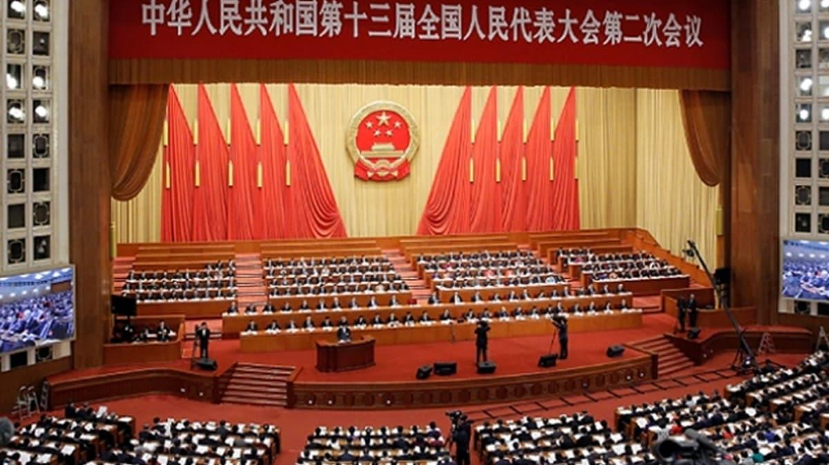 Çin'de salgın nedeniyle ertelenen Ulusal Halk Kongresi toplantısının tarihi belli oldu