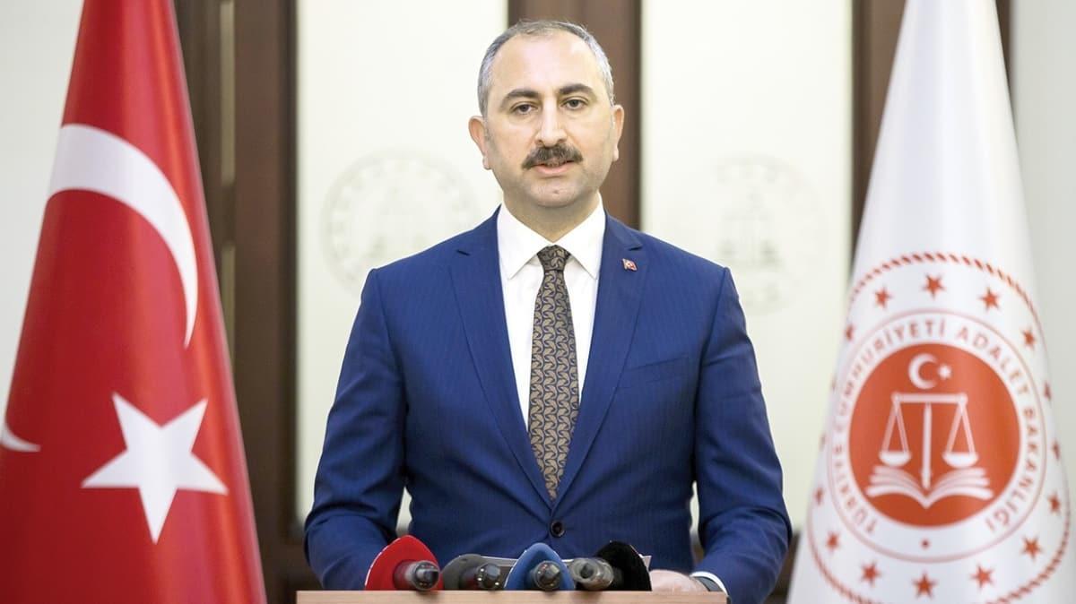Adalet Bakanı Abdulhamit Gül: 4 cezaevinde 120 kişiye teşhis konuldu