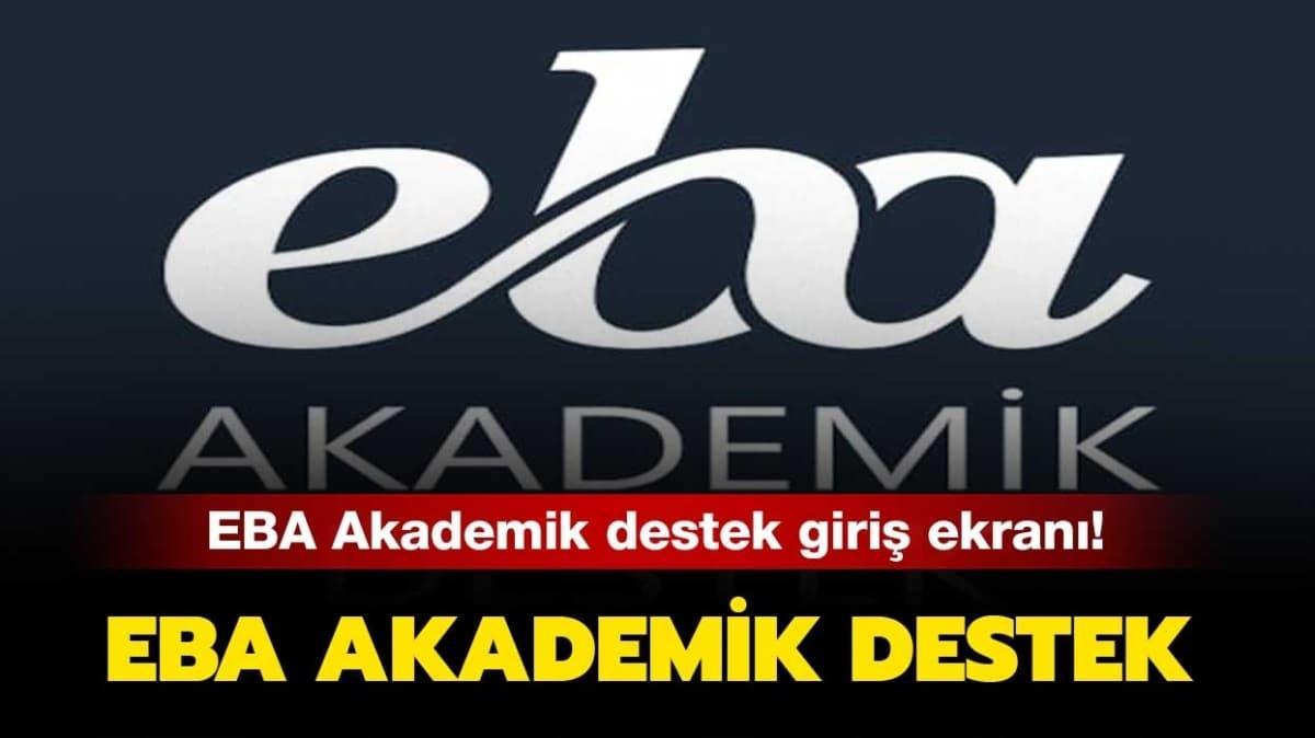 """EBA akademik nedir"""""""