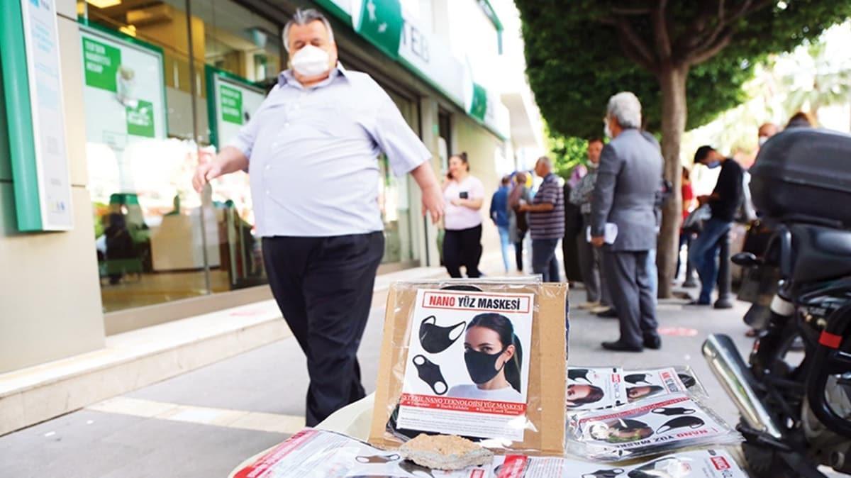 Satışı yasak maskeler tezgaha düştü!