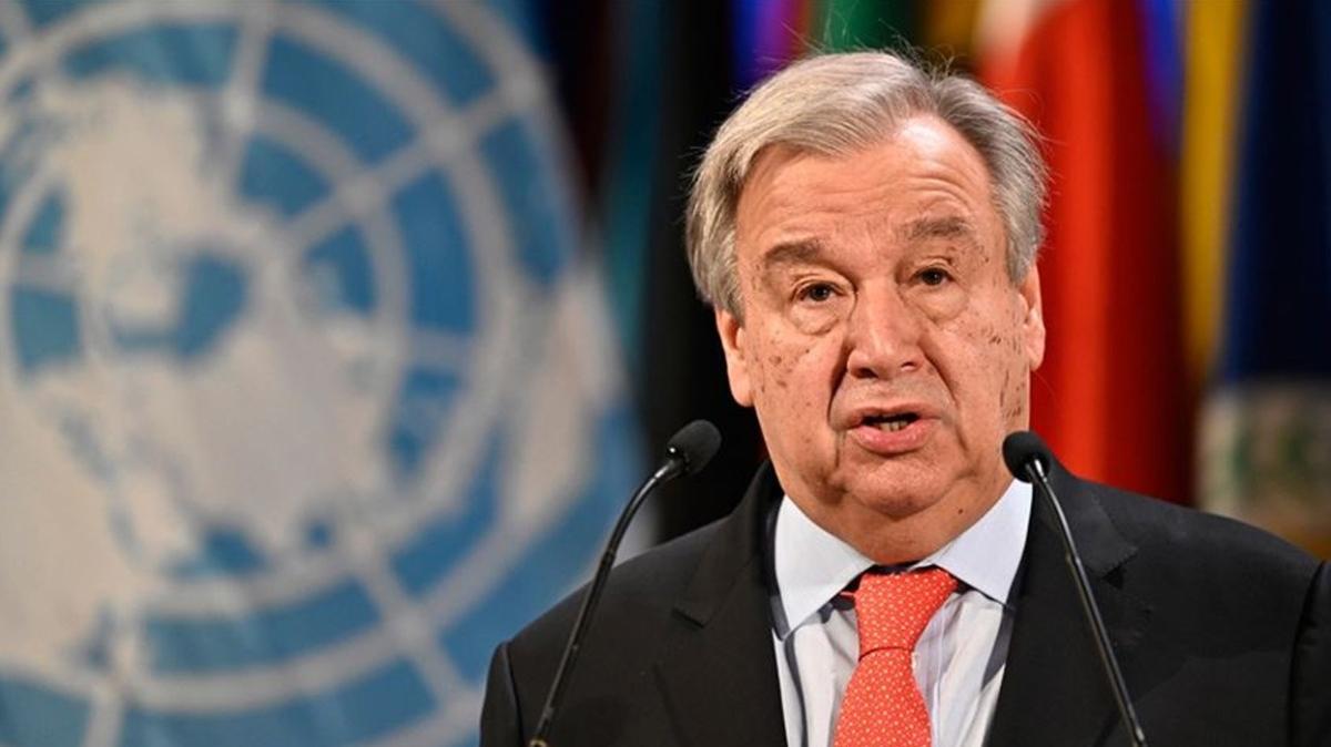 BM Genel Sekreteri Guterres'den 'karbon salınımı' çıkışı: Para ödetme zamanı geldi!