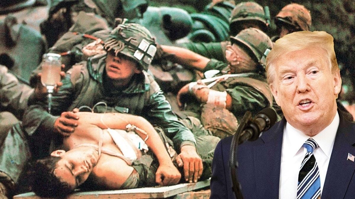 Trump gevşedikçe bilanço artıyor! Ölümler Vietnam Savaşı'nı bile geçti