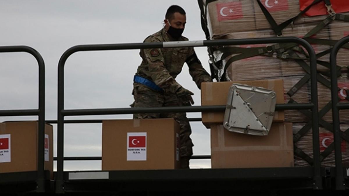 ABD'den Türkiye'ye tıbbi malzeme yardımı teşekkürü