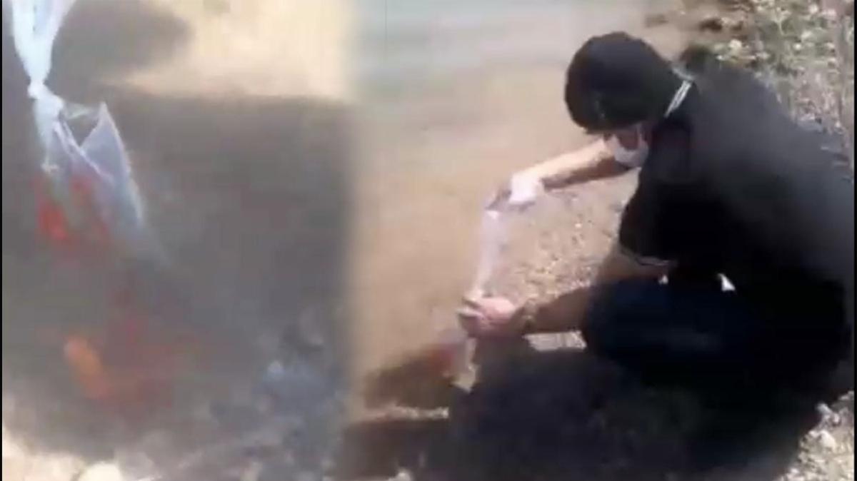 Konya'da göle yasadışı balık bırakan gizemli Amerikalı serbest bırakıldı