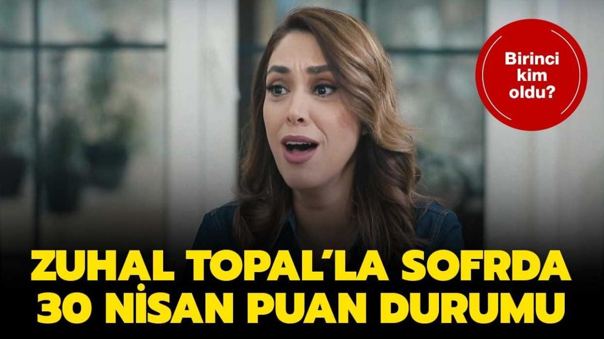 Zuhal Topal'la Sofrada  günün birincisi açıklandı